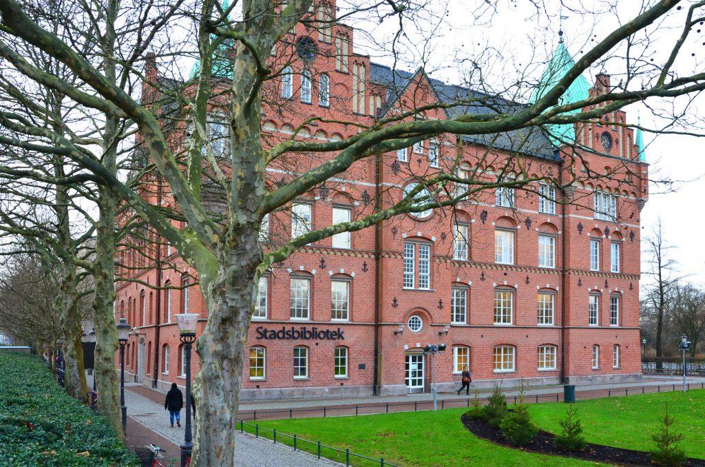 Najkrajšie knižnice: Knižnica Malmö