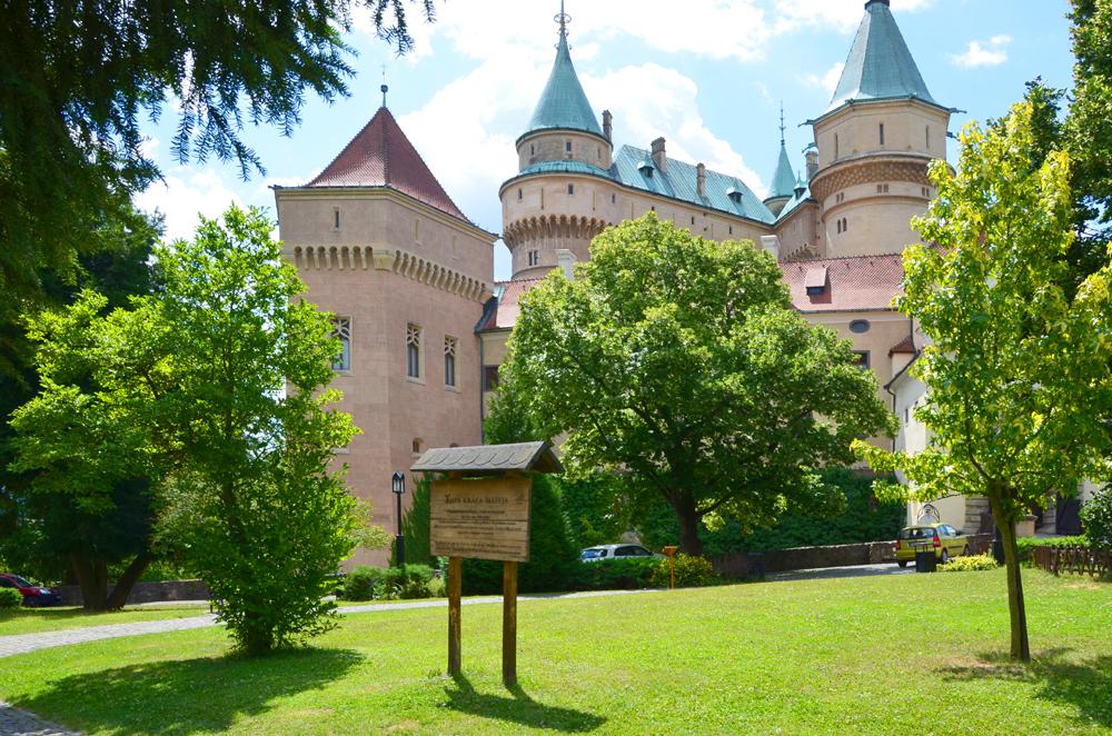 Zámocká záhrada - výlet Bojnice
