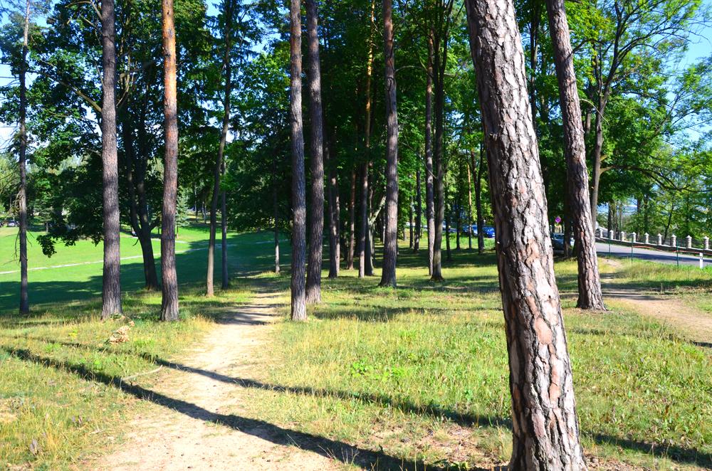 Vyhliadka v Bojniciach - cesta na vrchol