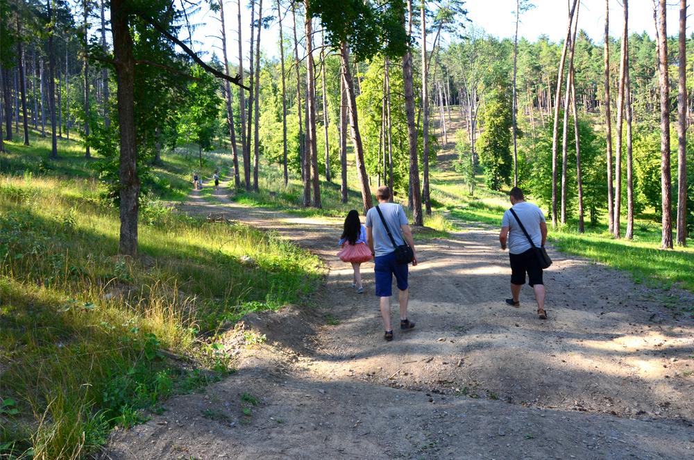 Vyhliadka v Bojniciach - Výlet Bojnice