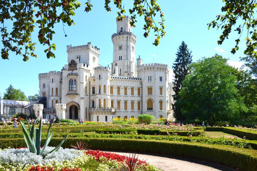 Kam v Česku na hrad? Hluboká