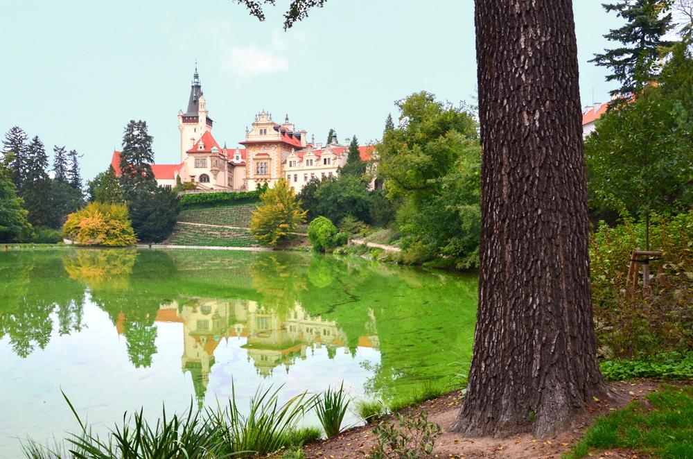 Najkrajšie hrady a zámky v Česku - Zámok Pruhonice