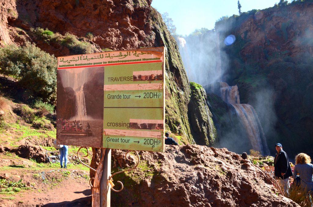 Výlet vodopády