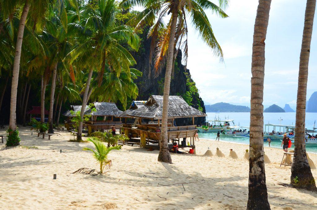 Filipíny - Palawan - Seven Commandos Beach