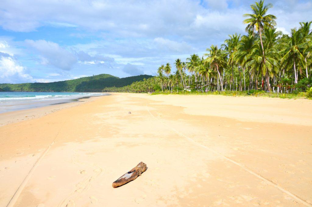 Filipíny - Palawan - Nacpan Beach