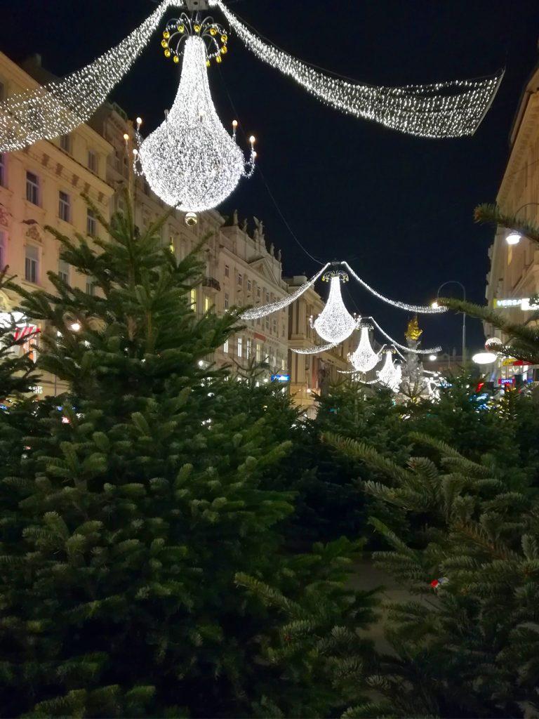 Viedeň - Vianočné trhy - výzdoba