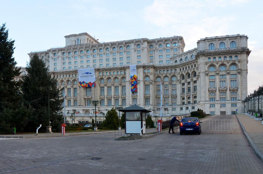 Bukurešť - Prechádzka mestom