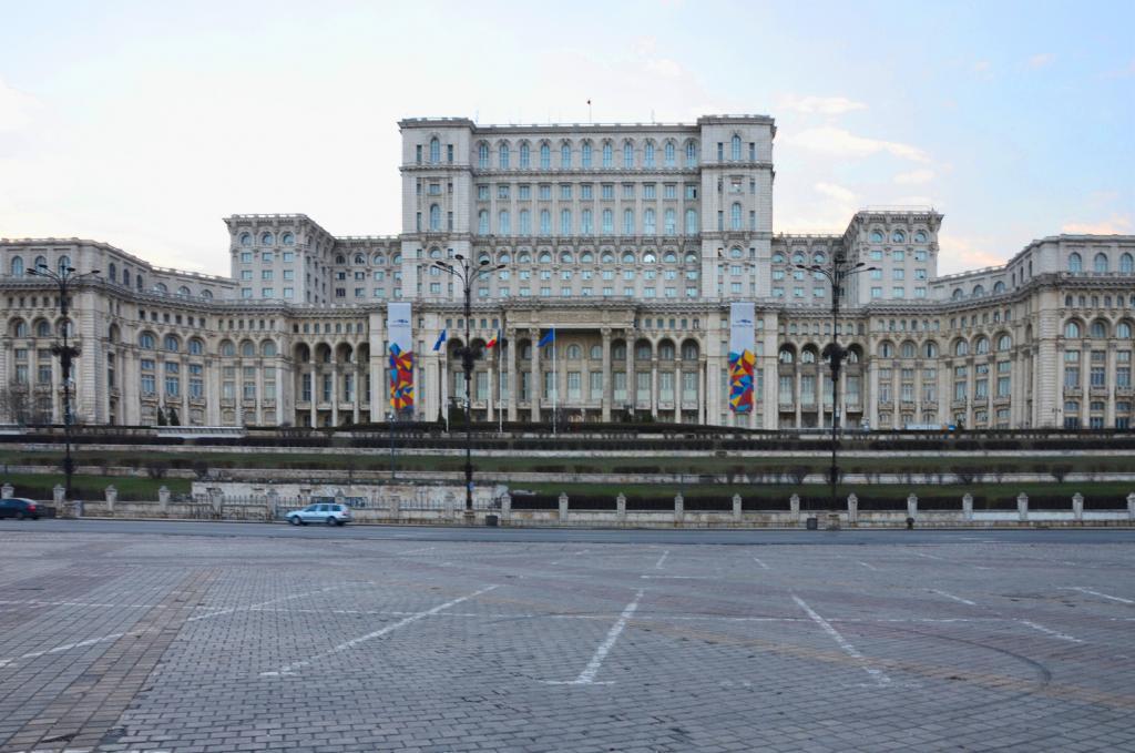 Bukurešť - parlament