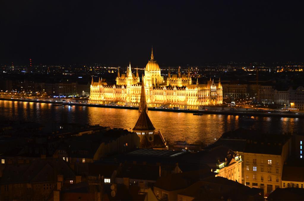 Budapešť v noci