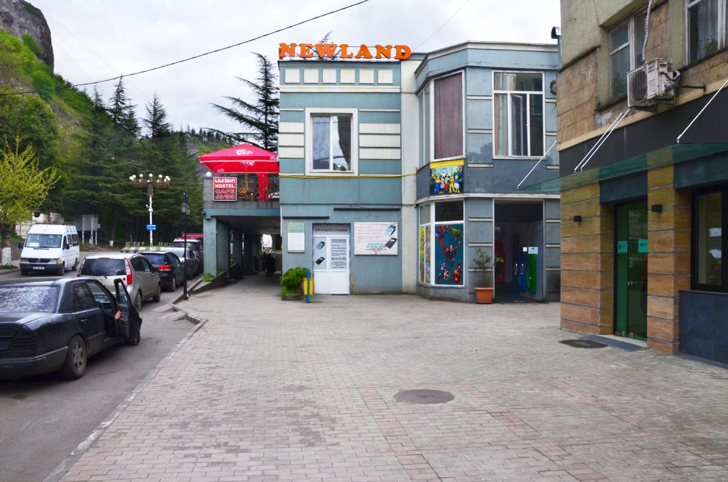 Gruzínsko - Čiatura  - Jedno z mála miest, kde sa dá najesť.