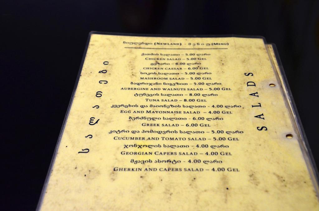 Obedové menu