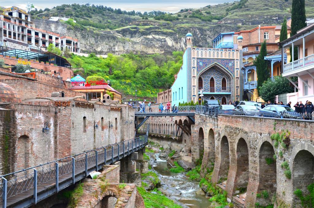 Gruzínsko - Tbilisi - Kúpele