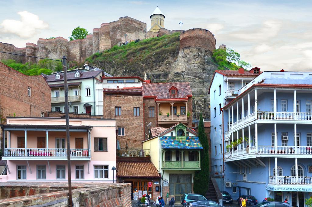 Gruzínsko - Tbilisi - hrad
