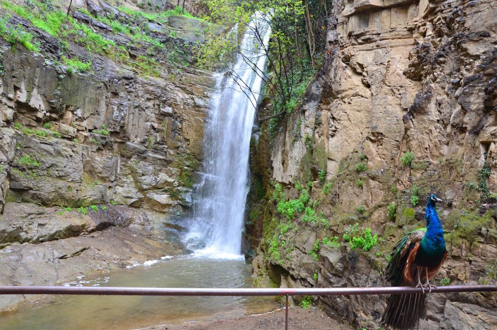 Gruzínsko - Tbilisi - vodopád