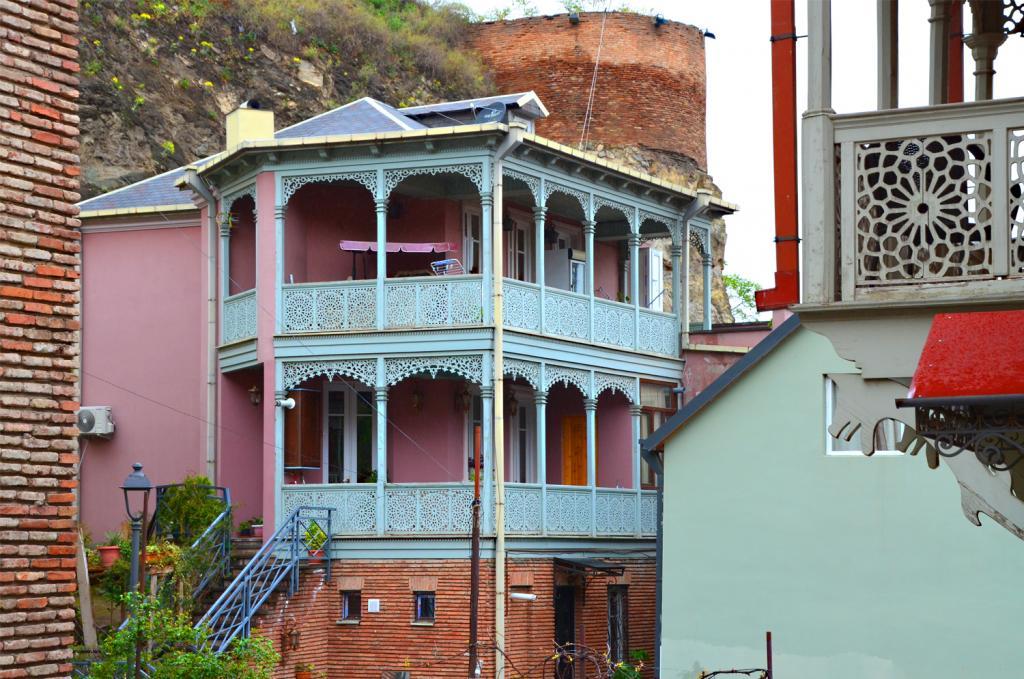 Gruzínsko - Tbilisi - Prechádzka mestom