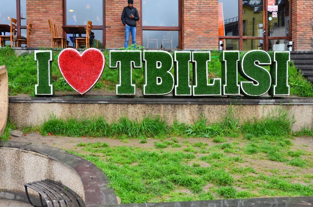 Gruzínsko - Tbilis - I LOVE Tbilisi