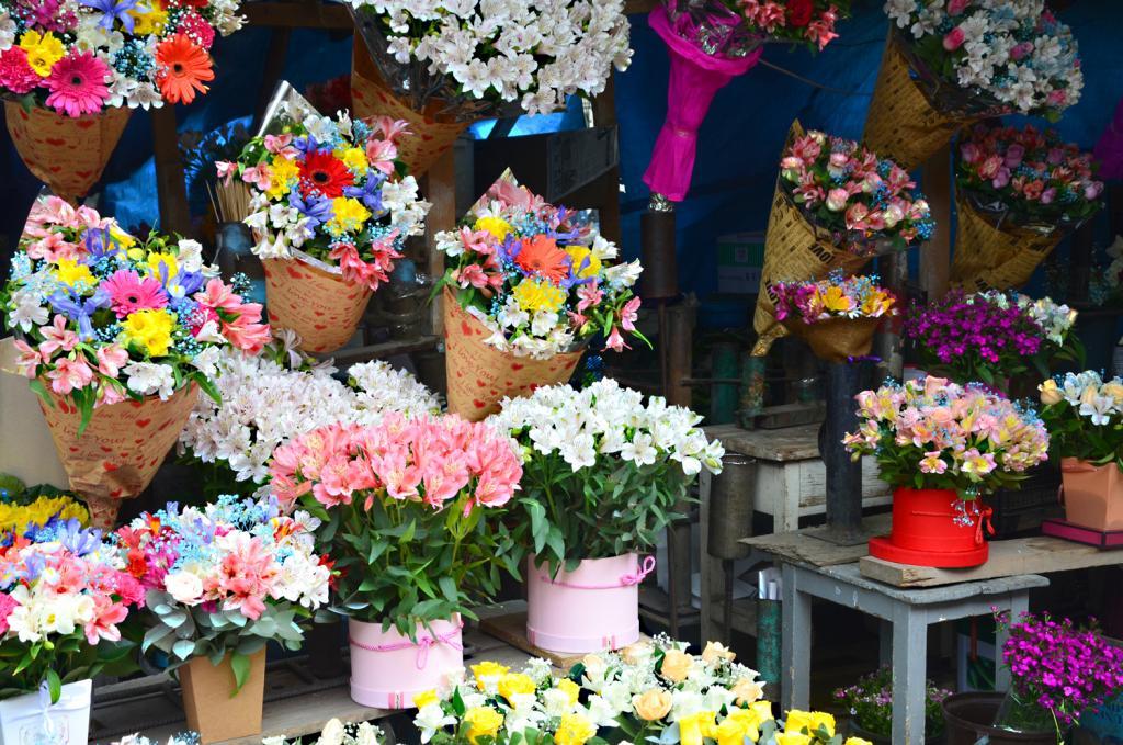 Trh s kvetmi