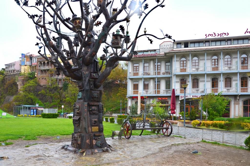 Gruzínsko - Tbilis - Strom života