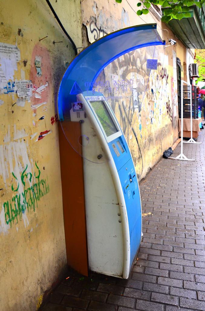 TBC Pay - V Gruzínsku E-služby fungujú