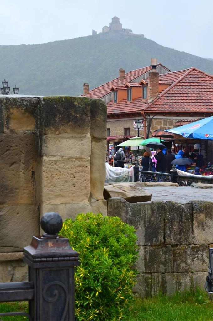 Gruzínsko - kostolík