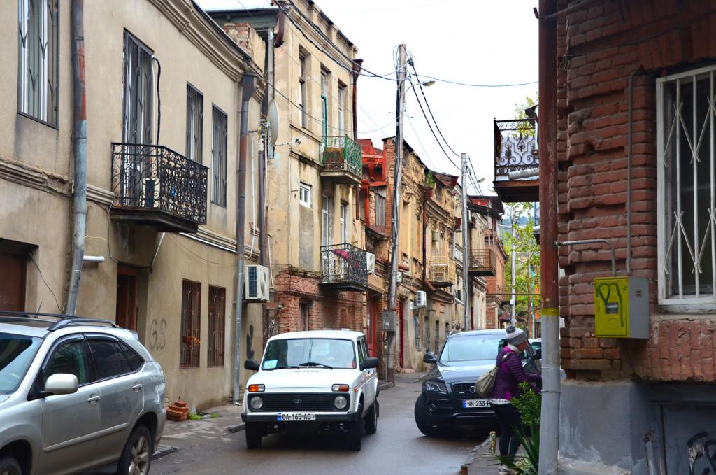 Gruzínsko - Ulice Tbilisi