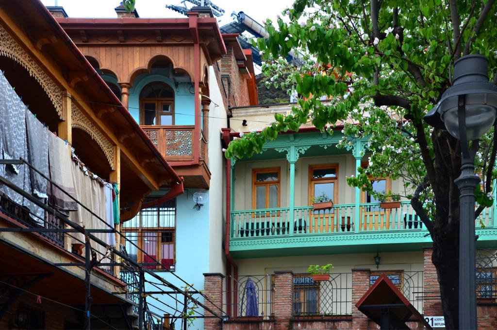 Gruzínsko - Tbilisi - Ranné Tbilisi