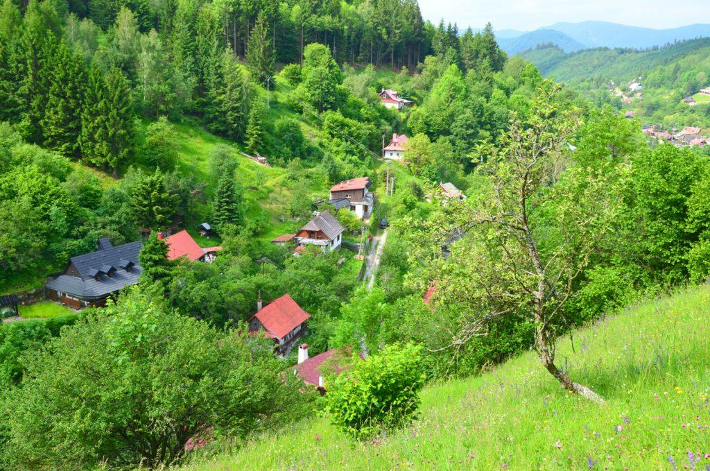 Výlet Špania Dolina - Cestou sú veľmi pekné výhľady