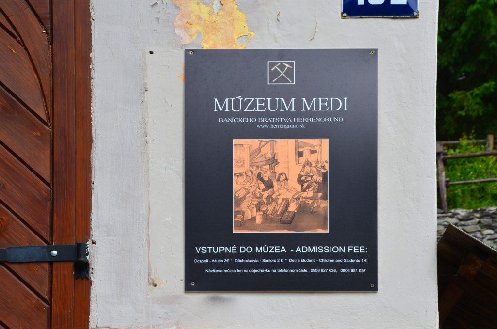 Špania Dolina - Múzeum medi