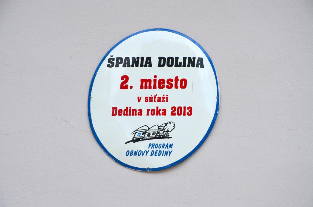 Výlet Špania Dolina - Dedina roka 2013