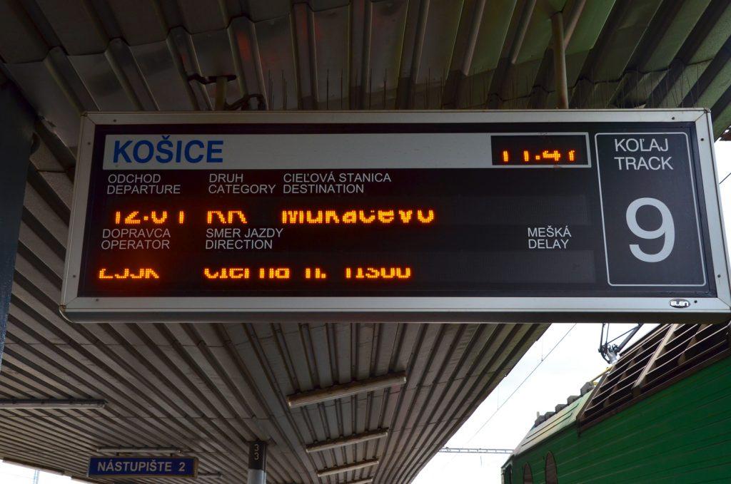 Košice - železničná stanica