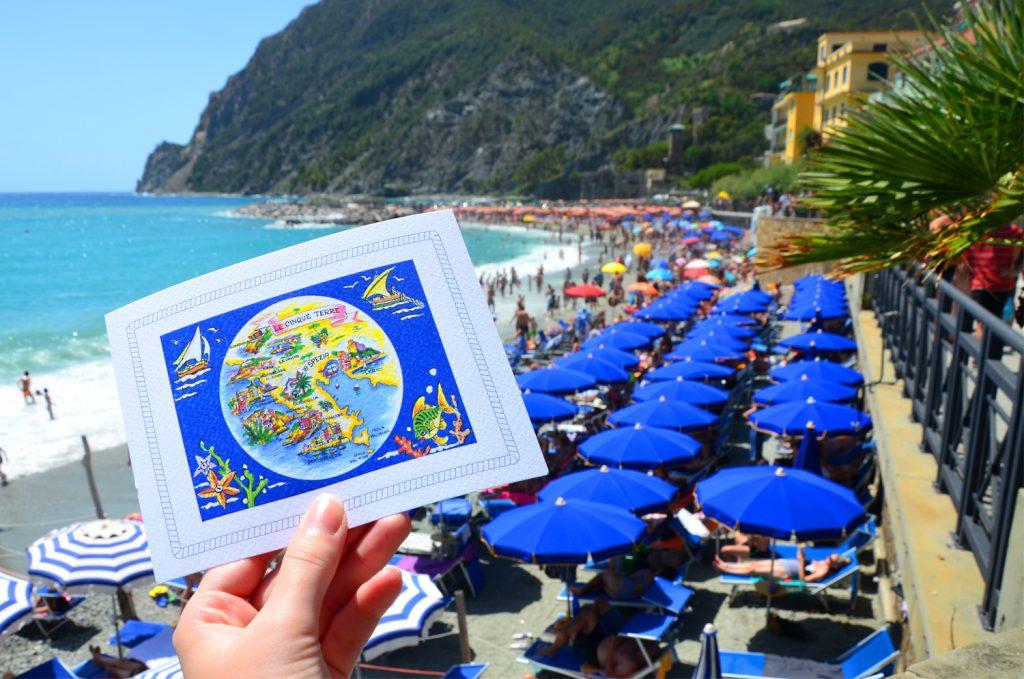 Monterosso al Mare - Pohľadnica musí byť!