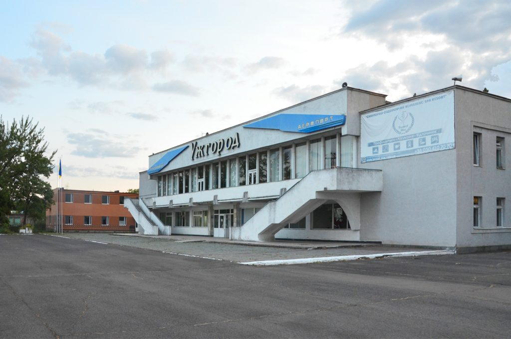 Užhorod - letisko - starý terminál
