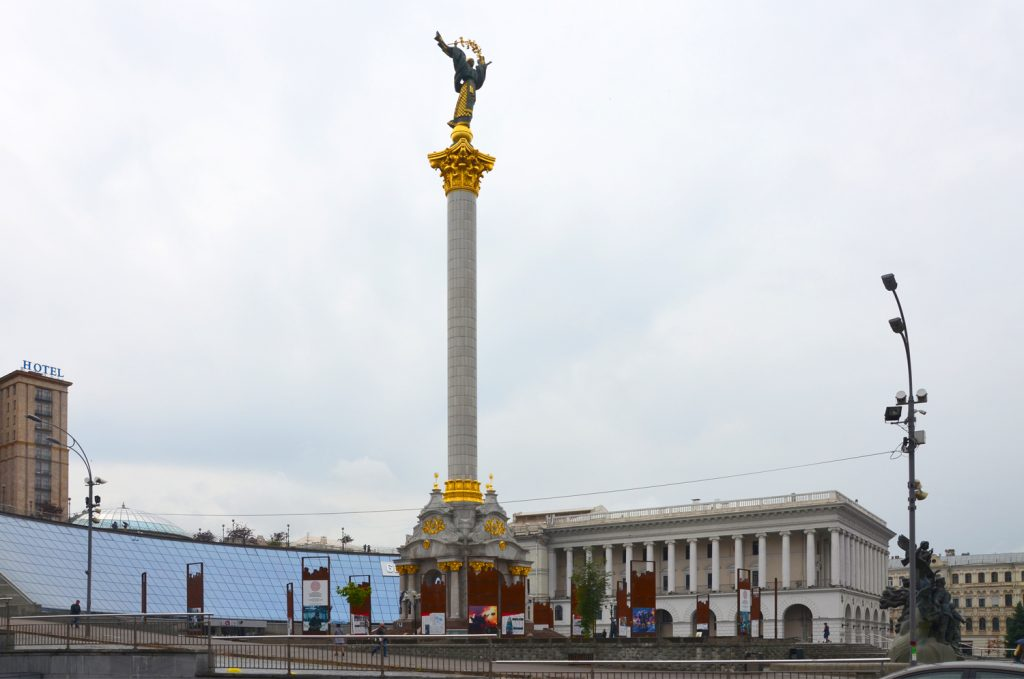 Kyjev - Majdan