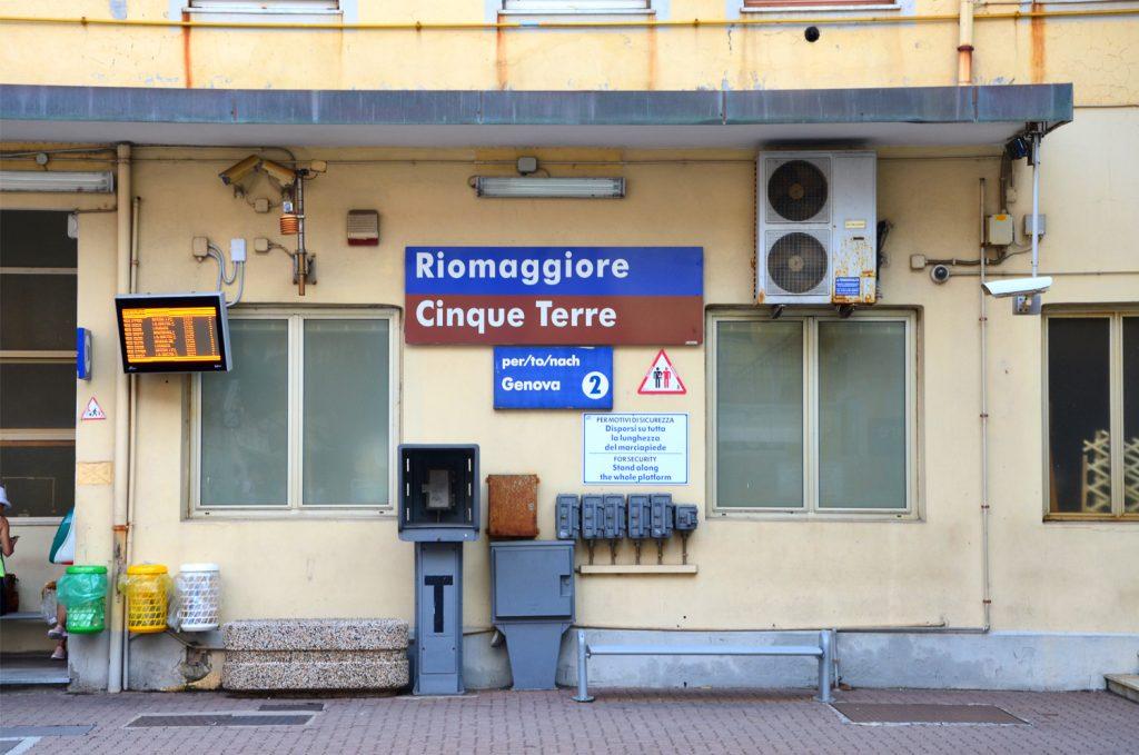 Riomaggiore - železničná stanica