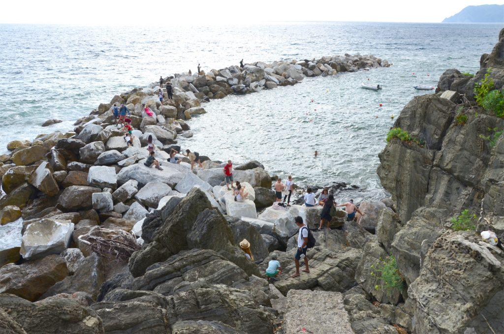 Riomaggiore - populárne miesto na fotky