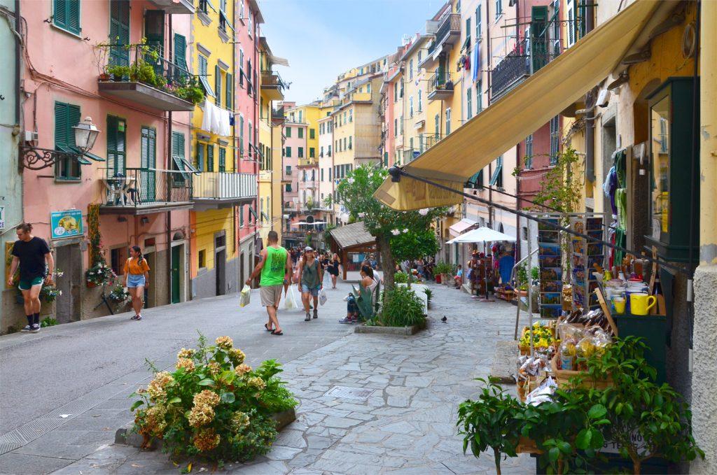 Cinque Terre - Riomaggiore - prechádzka mestom