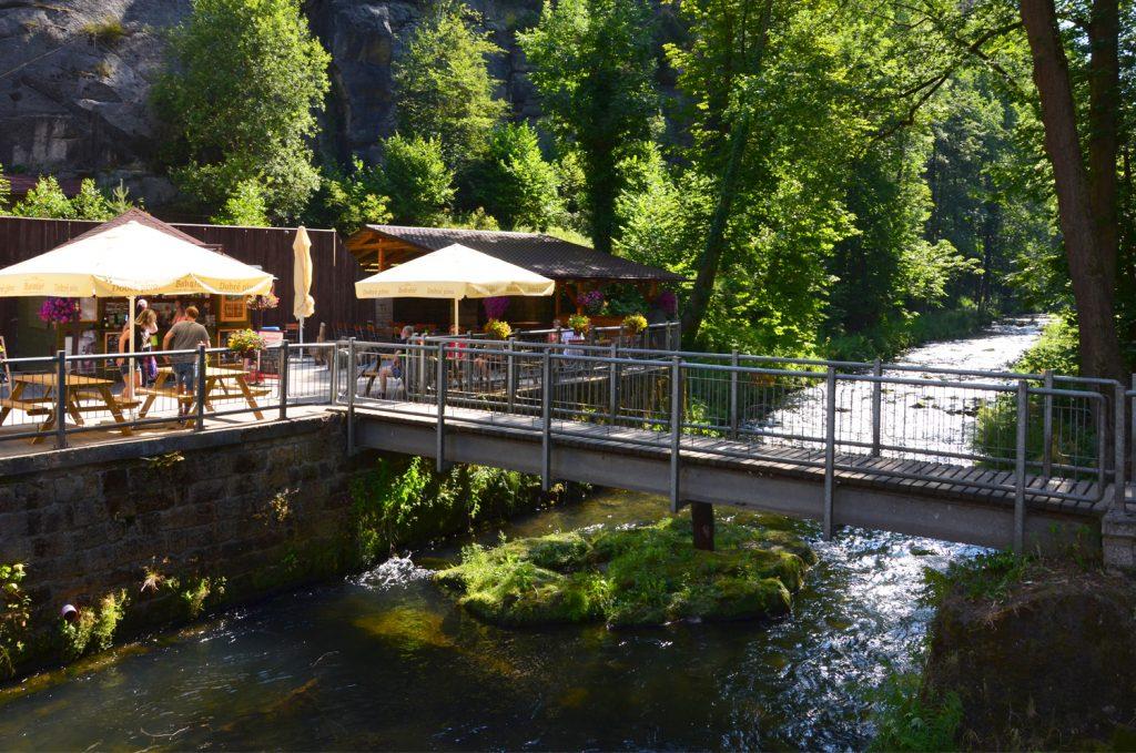 České Švajčiarsko - Začiatok prechádzky