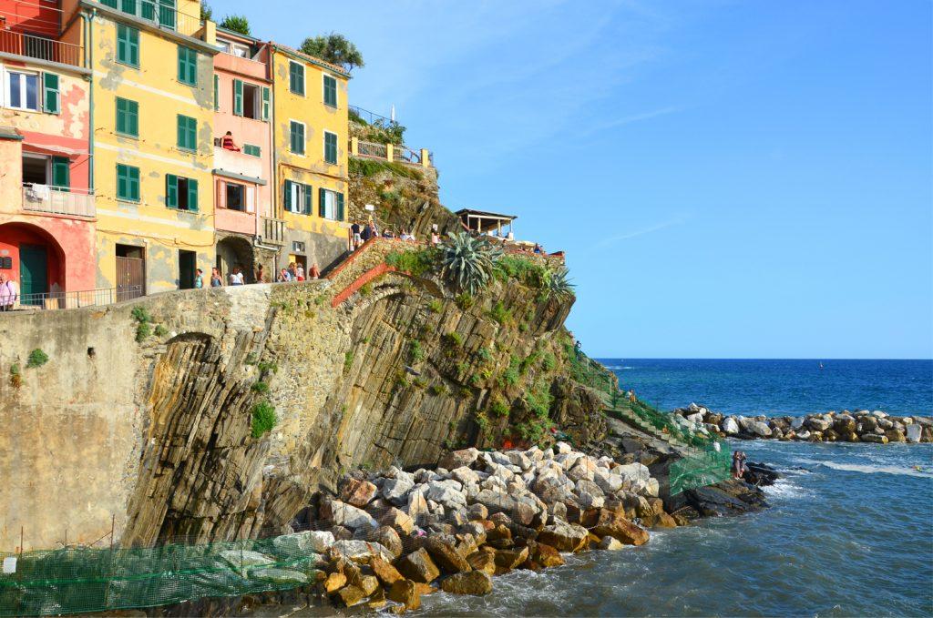 Riomaggiore - cesta na pláž