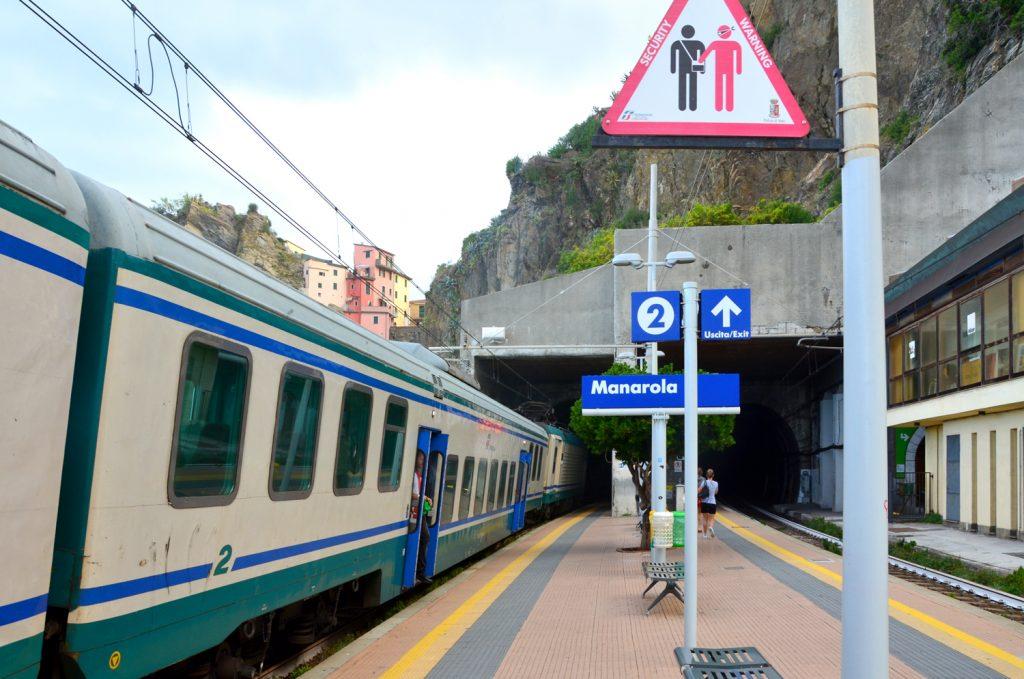 Manarola - železničná stanica