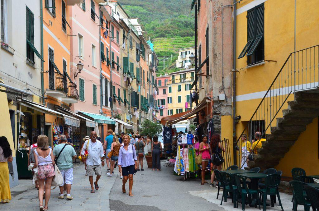 Cinque Terre - Vernazza - potulky po meste