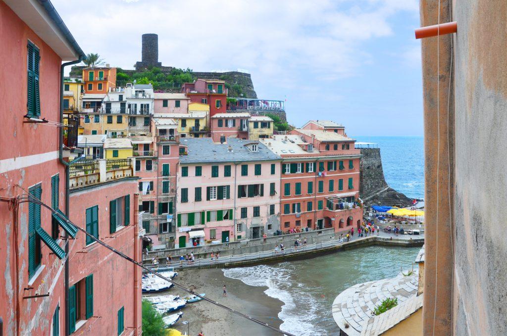 Cinque Terre - Vernazza - výhľad z kostola
