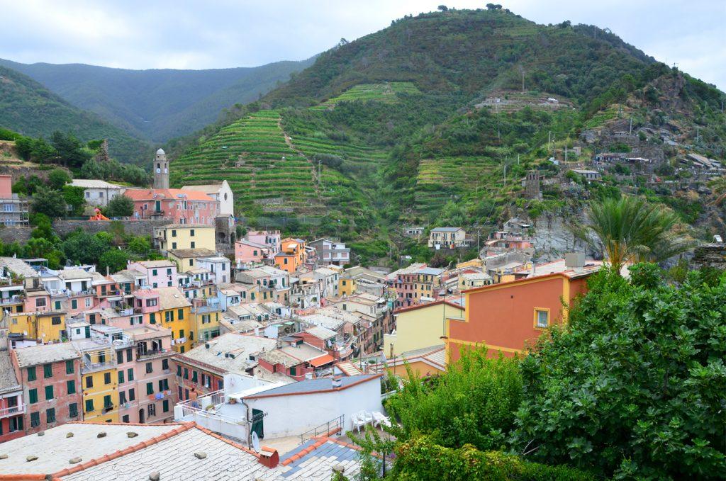 Vernazza - výhľad z hradu