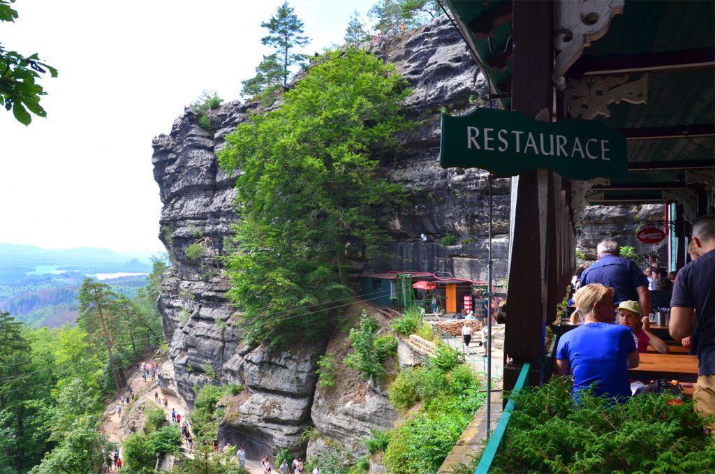 Pravčická brána - reštaurácia