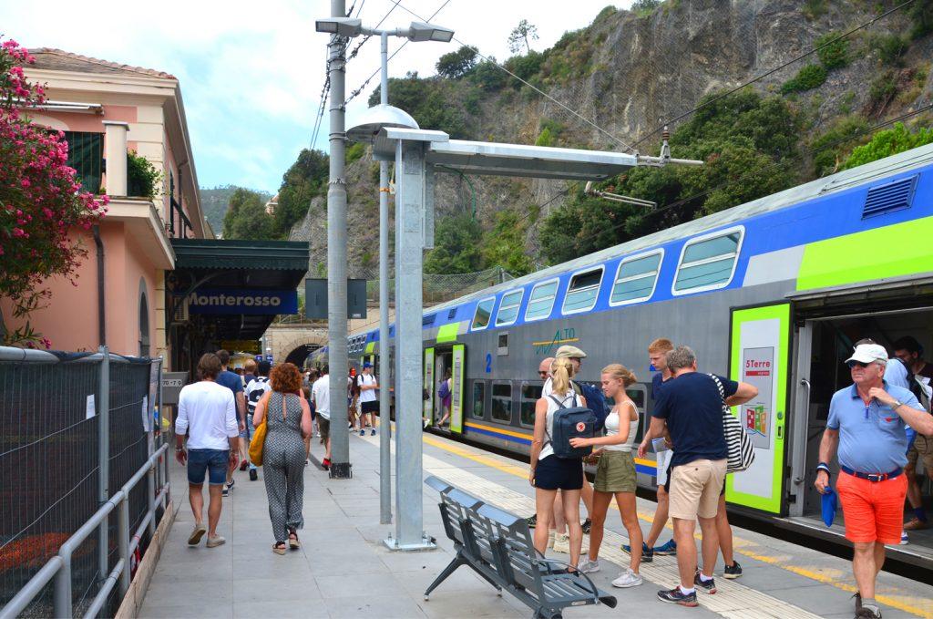 Monterosso al Mare - železničná stanica