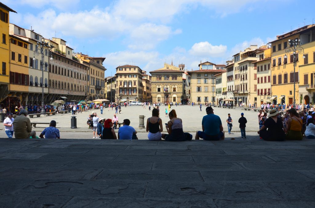 Florencia - Piazza di Sanra Croce