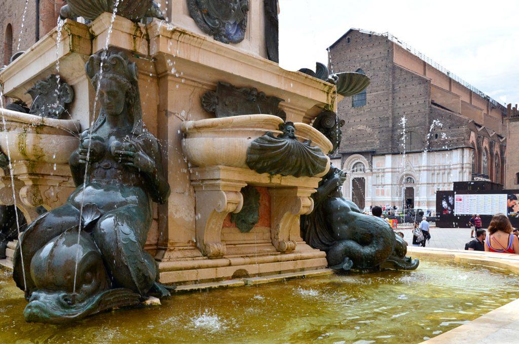Neptúnová fontána Bologna