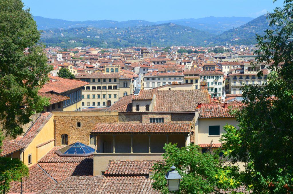 Florencia - výhľad na mesto