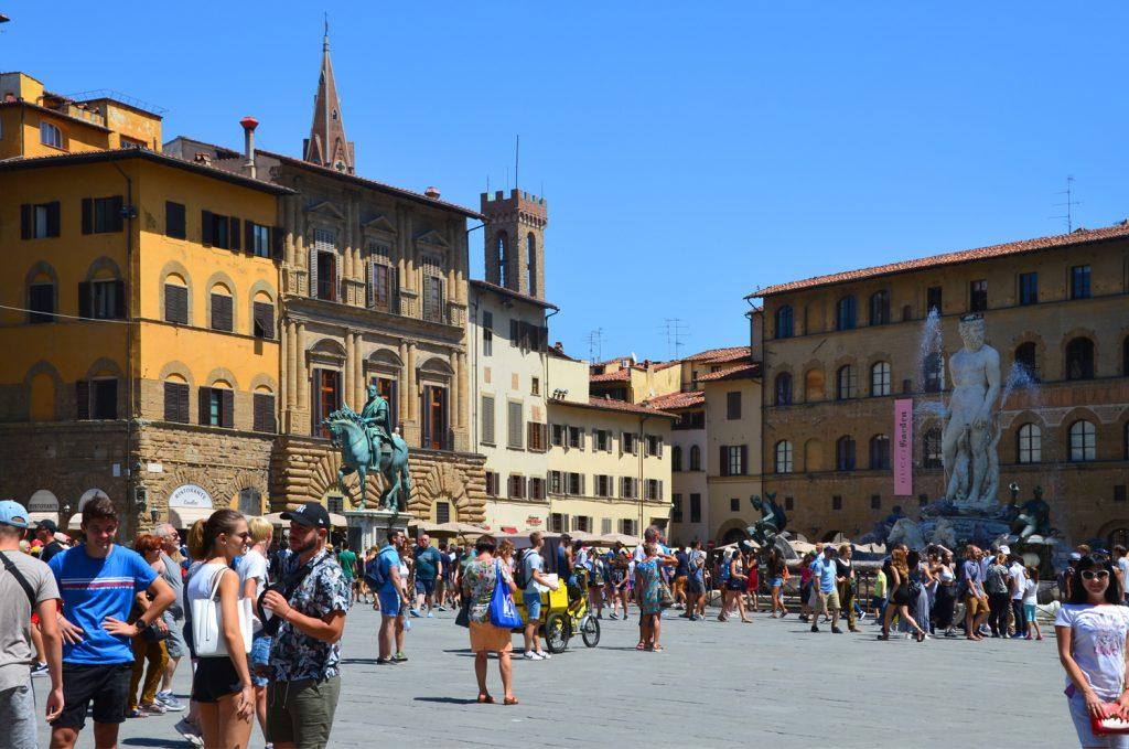 Florencia - Piazza della Signoria
