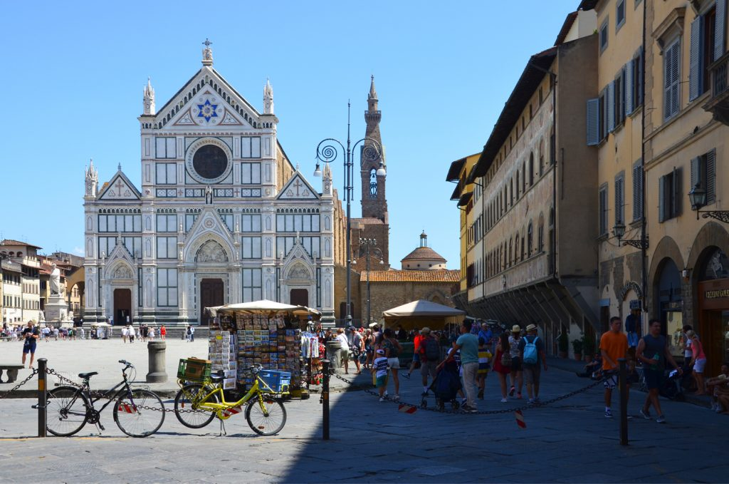 Florencia - Basilica of Santa Croce