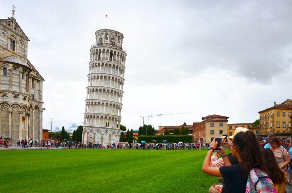 Šikmá veža v Pise